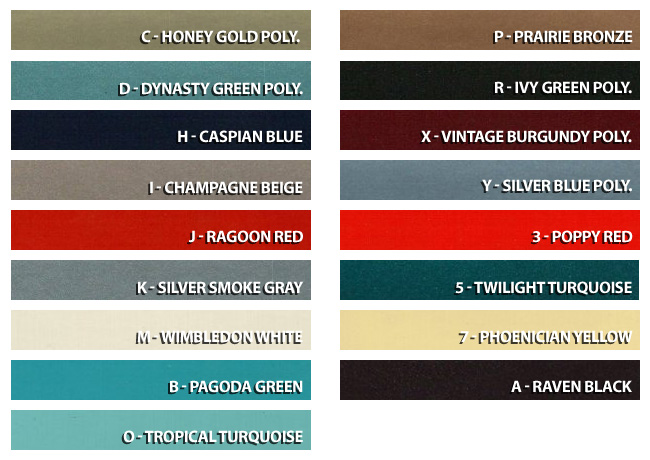 ford engine color chart  ford  free engine image for user